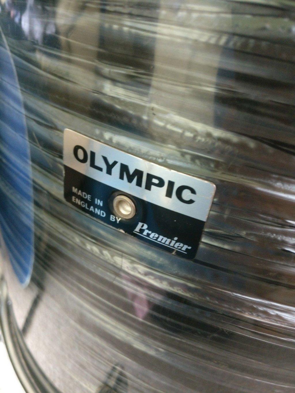 Olympic by premier, vintage drums, premier,revolverbackline,backlinerental,johnhenrys,mattsnowball,